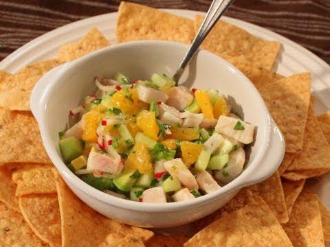 Mahi Mahi Ceviche Recipe - Marinated Fish Salad - Great For Summer!