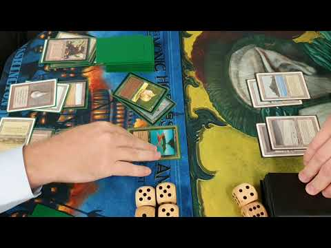 MtG Magic Old School 93/94 WG Abu Blazed Vs WUG Erhnamgeddon