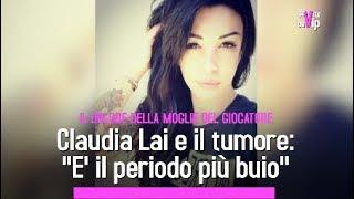 """La moglie di Radja Nainggolan, Claudia, senza capelli per la chemioterapia: """"E' il periodo più buio"""""""