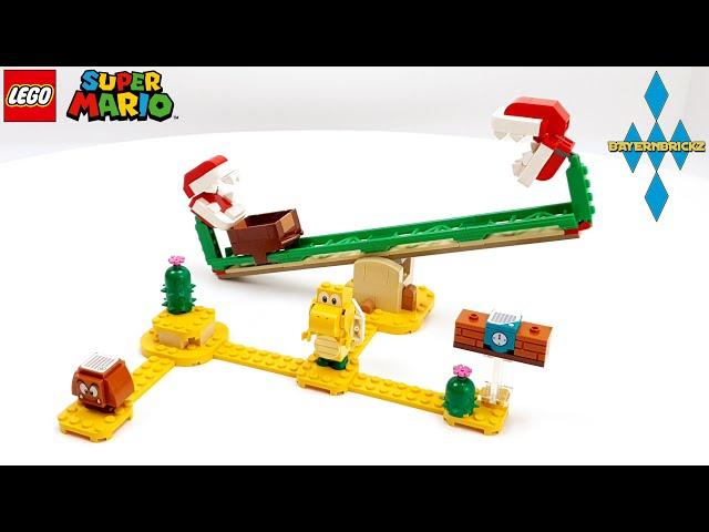 Lego Super Mario - 71365 Piranha Plant Power Slide / Piranha Pflanze Powerwippe