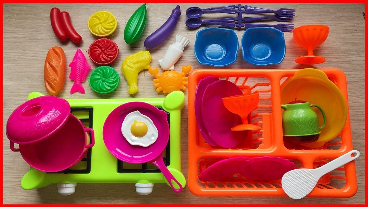 ĐỒ CHƠI NẤU ĂN CHO BÉ 36 MÓN – Cooking toys for kids (Chim Xinh)