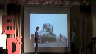 Цели и задачи: Тимур Алиев Гриша Гаврилкин at TEDxGymnasium1505