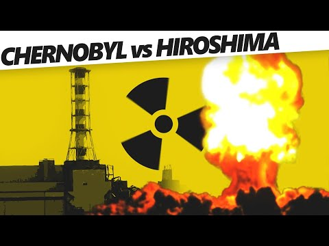 Why You Can Live In Hiroshima But Not In Chernobyl