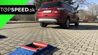 Ford Kuga C250 4x4 test - TOPSPEED.sk