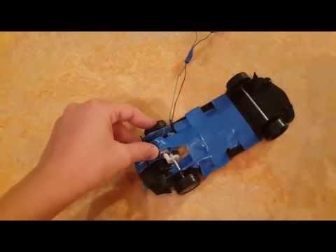 Как сделать машинку на пульте управления.