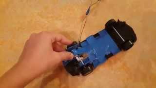 Как сделать машинку на пульте управления.(Вы увидите как сделать машинку на пульте управления., 2013-10-06T16:48:34.000Z)