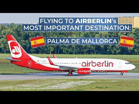 TRIPREPORT | Air Berlin (ECONOMY) | Hanover - Palma de Mallorca | Boeing 737-800