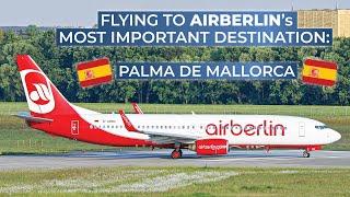 TRIPREPORT   Air Berlin (ECONOMY)   Hanover - Palma de Mallorca   Boeing 737-800
