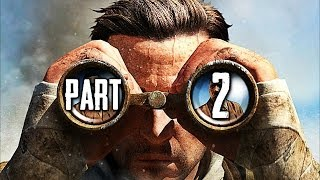 Sniper Elite 3 Gameplay Walkthrough Part 2 - Gaberoun (PS4)