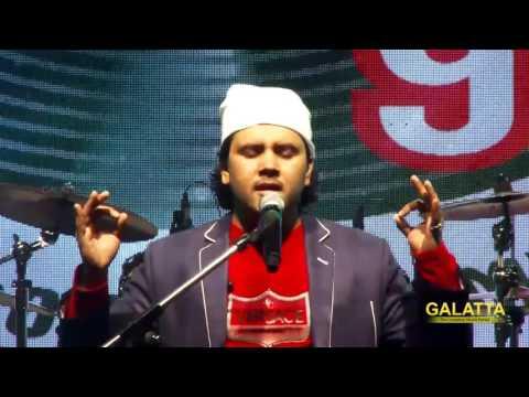 Javed Ali performs Kun Faya Kun LIVE at Chennai Forum mall