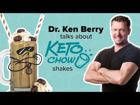 Dr  Berry on Keto Chow at Keto Summit Omaha