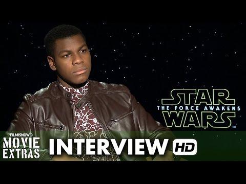 Star Wars: The Force Awakens (2015) Official Movie Inteview - John Boyega is 'Finn'