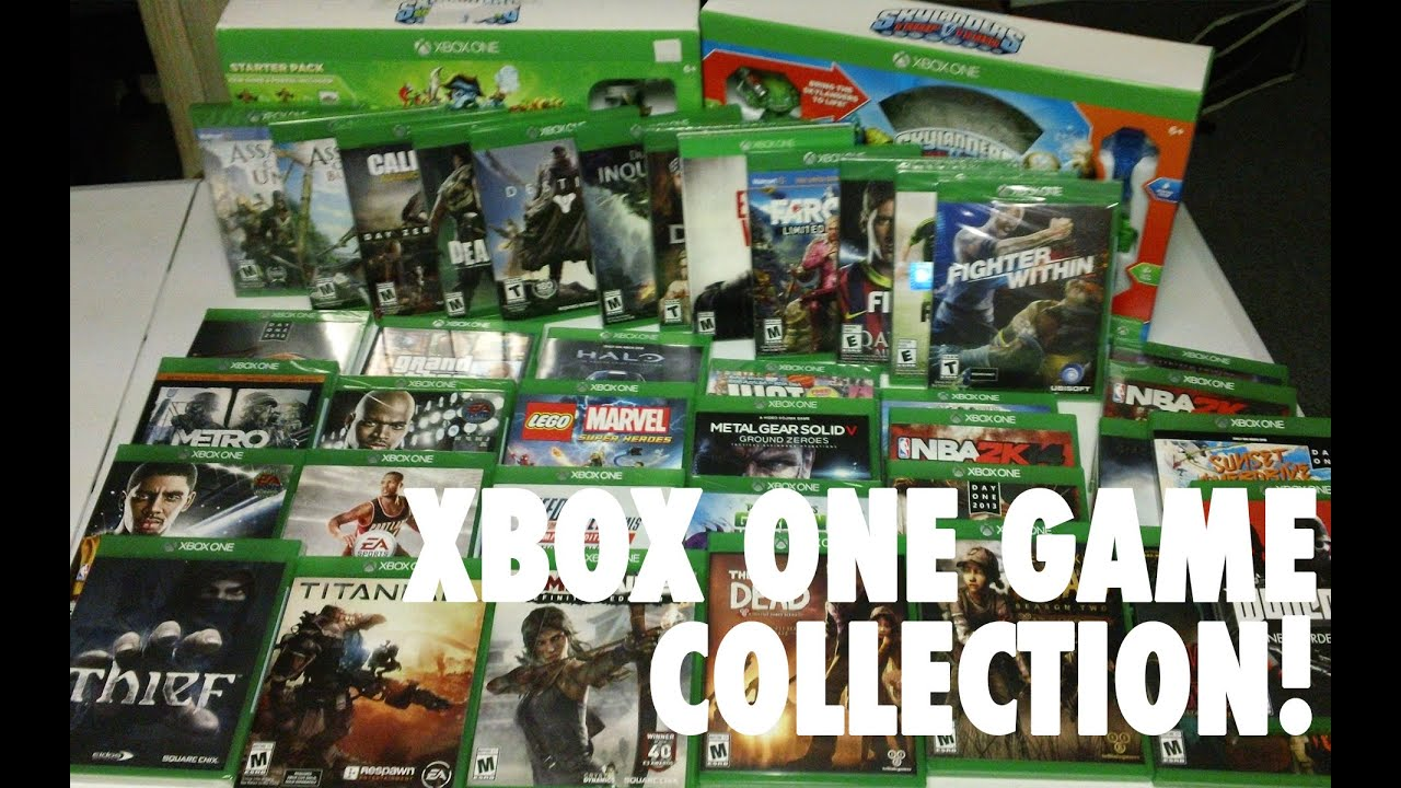 What Are Available For The Xbox One Games : Xbox one collection games november youtube