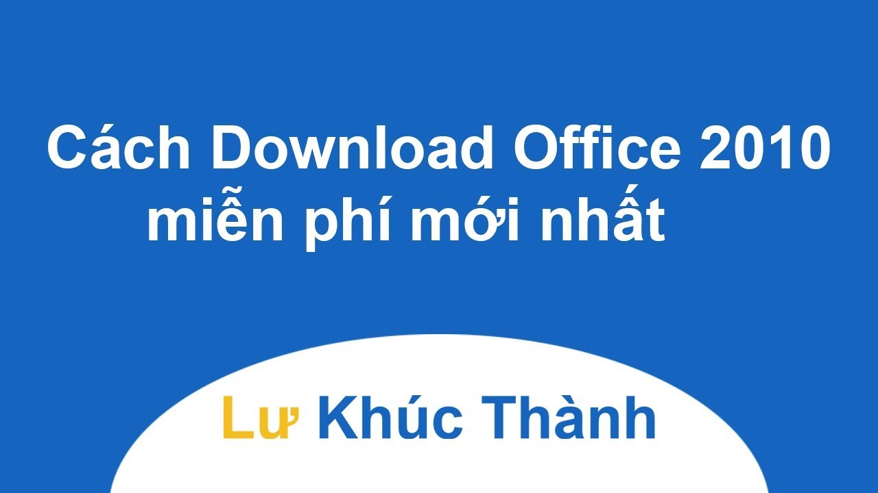 Download Office 2010 Full  ISO 32/64 bit CD Key bản quyền