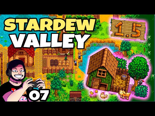 Fazenda Continua a Crescer sem Parar! (Stardew Valley 1.5) // Gameplay Português
