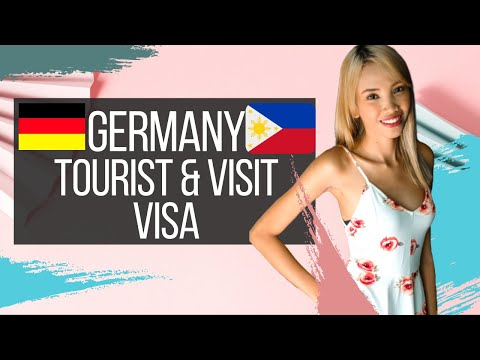 HOW TO APPLY FOR GERMAN TOURIST/VISIT VISA FOR PHILIPPINE PASSPORT HOLDERS.