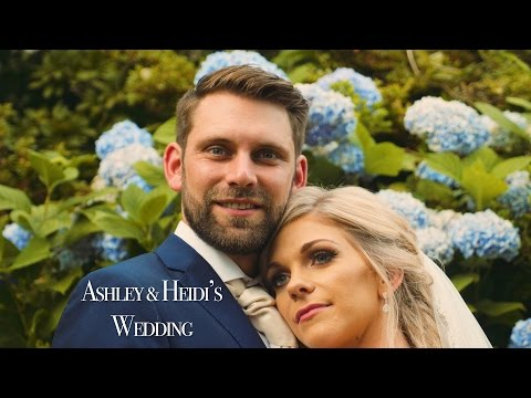 Glazebrook House Wedding Video Ashley & Heidi