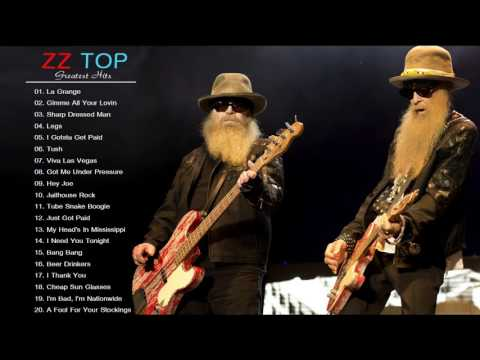 ZZ TOP Greatest Hits - The Very Best of ZZ Top [Live Collection]