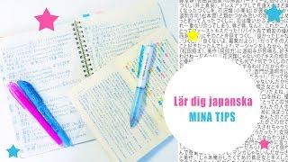 Lär dig japanska gratis på egen hand ☆ Mina tips!