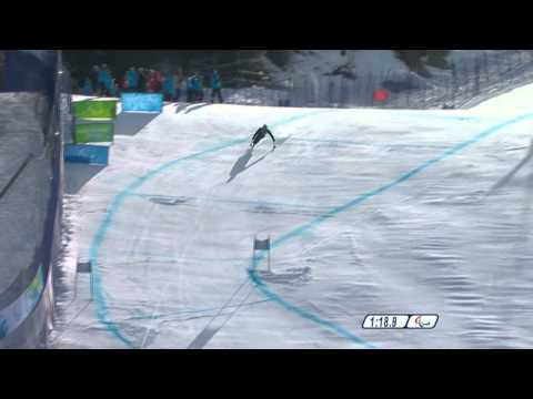 Super combined 1st run - Alpine Skiing - Vancouver 2010 Winter Paralympics