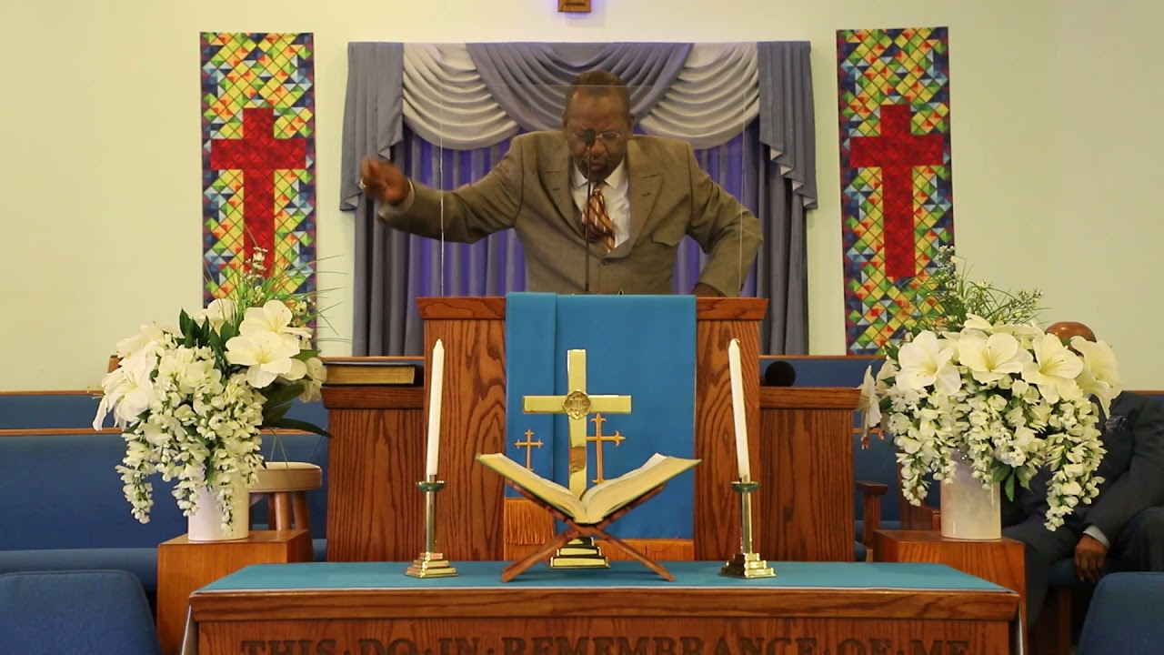 """Pastor Curtis Taylor - """"When God Uses His Fingers"""""""