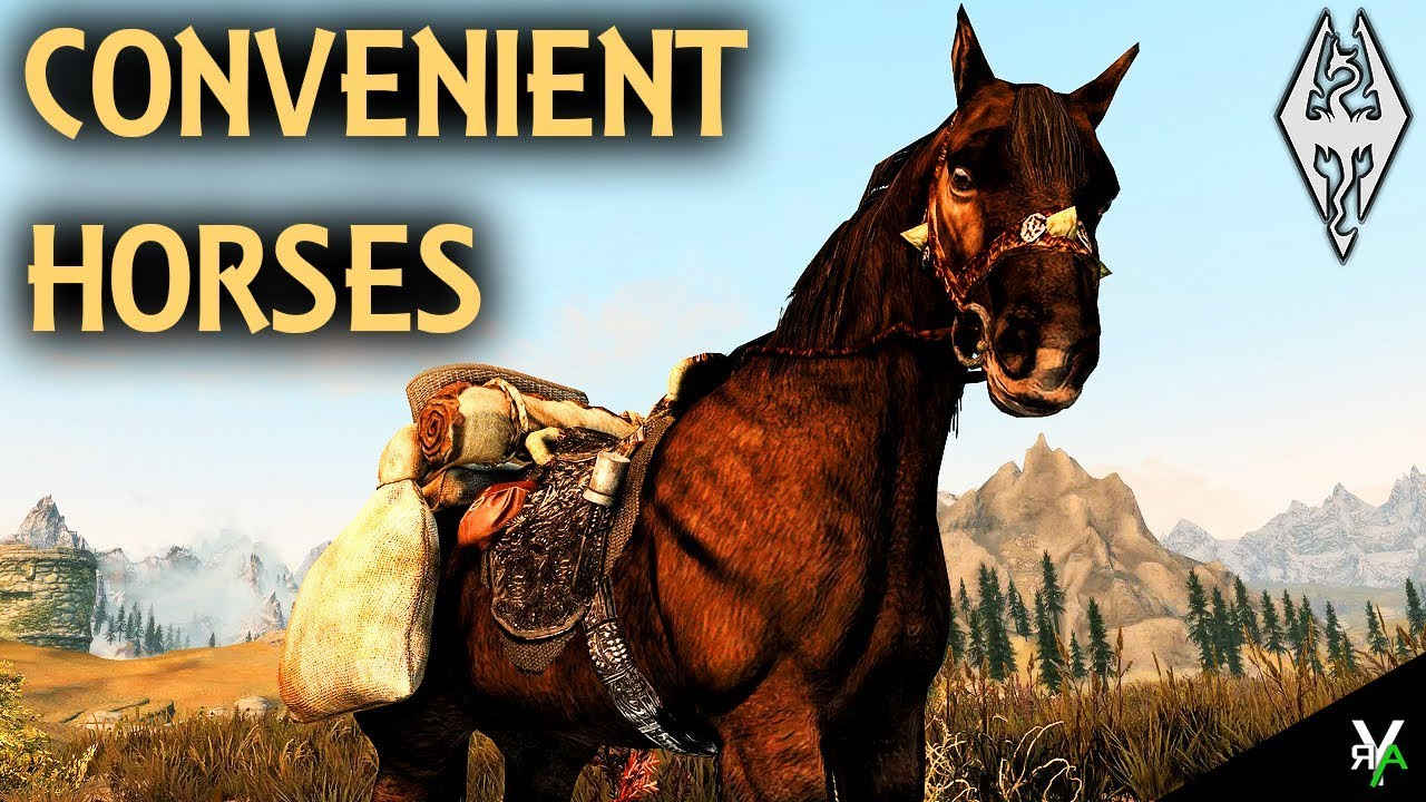 CONVENIENT HORSES: Horse Mod!!- Xbox Modded Skyrim Mod Showcase