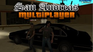 San Andreas Multiplayer Три брата в штате часть 65