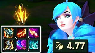 MAX ATTACK SPEED GWEN!! 4.77 LETHAL TEMPO IS ACTUALLY TOO FUNNY!! (On-Hit Gwen Gameplay)