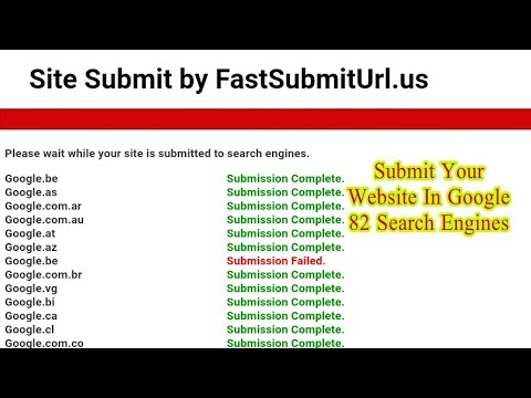Submit Your Website In Google 82 Search Engine | How to submit site on google search engine