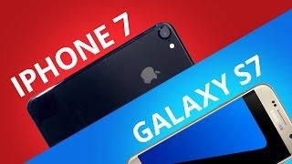 iPhone 7 vs Samsung Galaxy S7 [Comparativo]