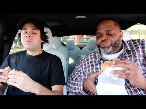 Jack In The Box Ribeye Burgers f. David  Dobrik