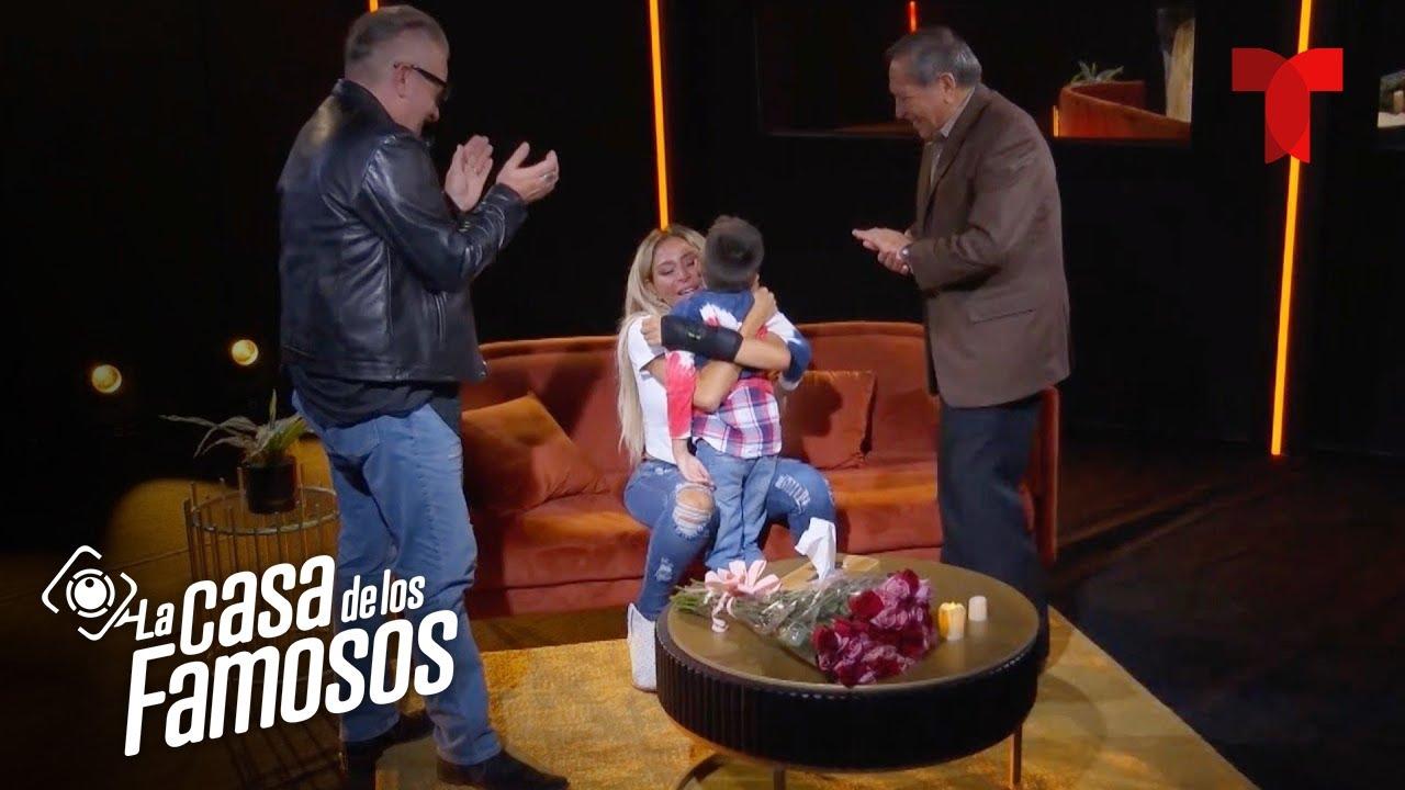 La Casa de los Famosos: Cristina y su hijo   Telemundo Entretenimiento