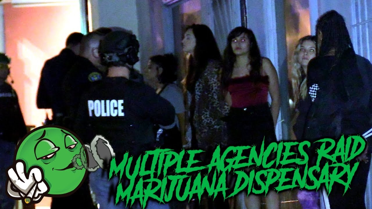 Multiple Agencies Raid Marijuana Dispensary in City Heights | Copwatch