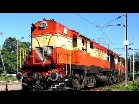12609 CHENNAI BANGALORE EXPRESS WITH ROYAPURAM WAP7 LOCOMOTIVE AT A SPEED OF 80 KMPH