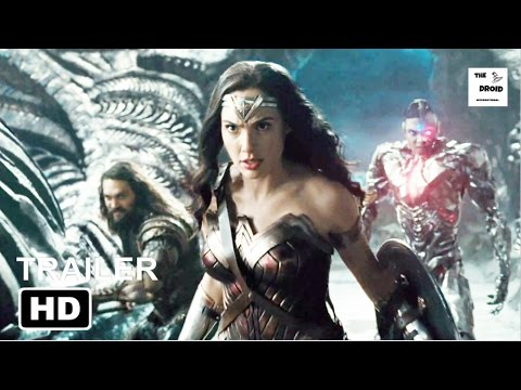 JUSTICE LEAGUE Trailer (2017) | Gal Gadot, Amy Adams, Ben Affleck