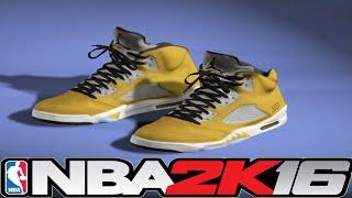 NBA 2K16 Shoe Creator - Jordan 5 Tokyo