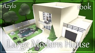 Roblox   Bloxburg: Large Modern House (100k)