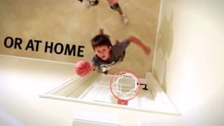 видео баскетбольное кольцо