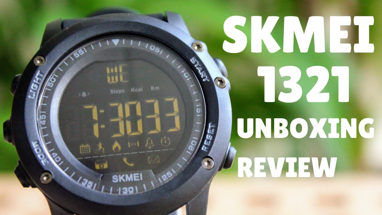 Skmei 1321 Smartwatch Unboxing And Review Youtube
