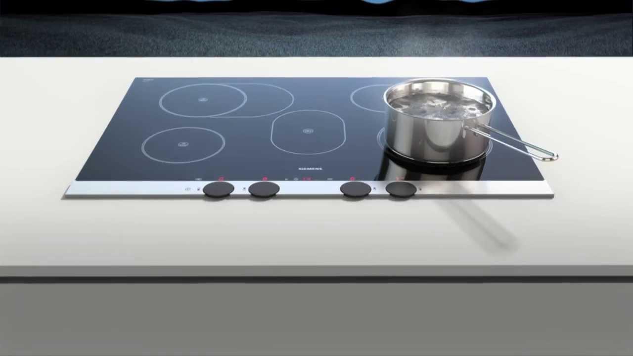 kochen mit siemens disccontrol youtube. Black Bedroom Furniture Sets. Home Design Ideas