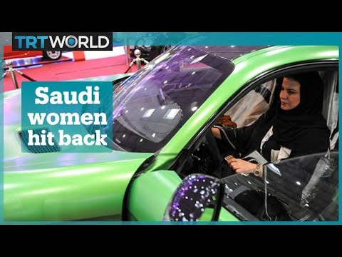 Saudi women hit back after men tell them 'You won't drive'