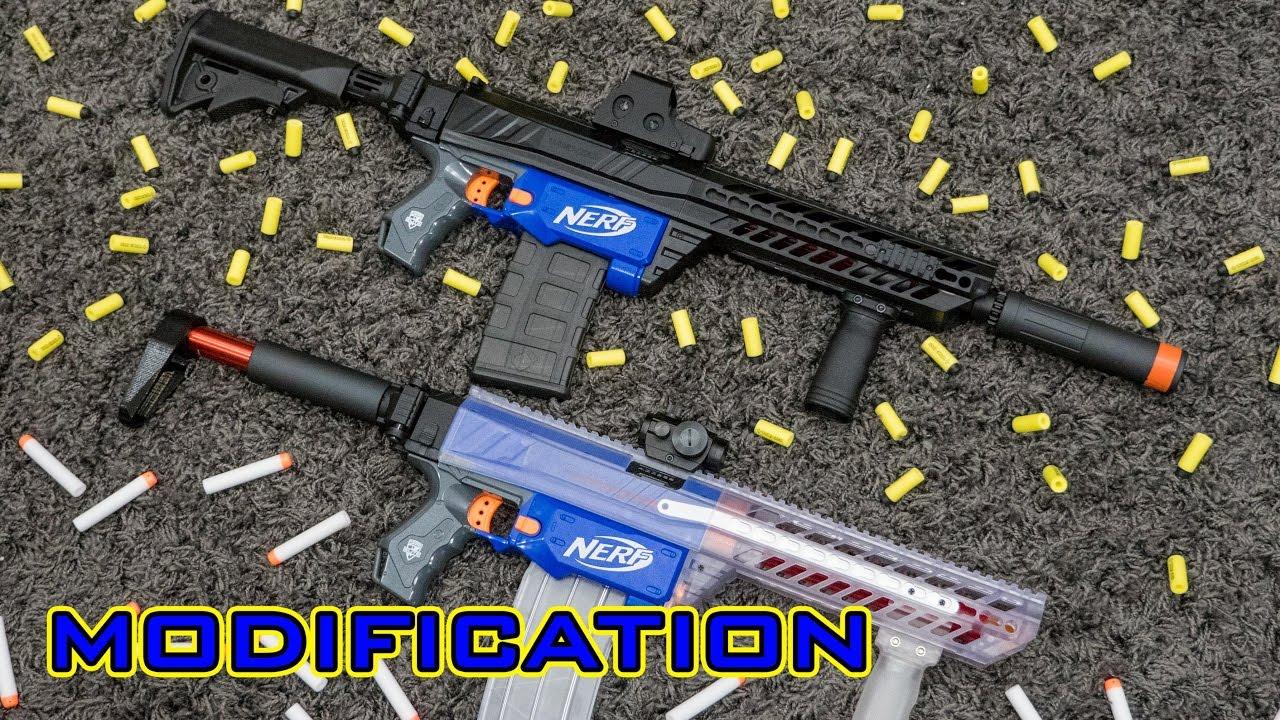 Mod Nerf Retaliator Modification Sig Sauer Mcx Kit More Youtube 556 Assault Rifle Model Toys Premium