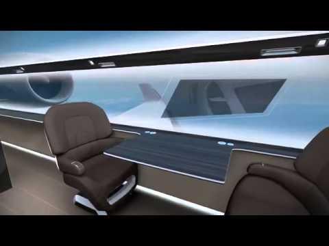 Technicon France IXION Windowless Jet Concept