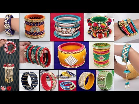 26 Ladies Designer Bangles Ideas !!! Ladies Special Jewelry Making at Home