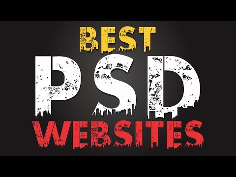 5 Best PSD Websites - For All Graphics Designers