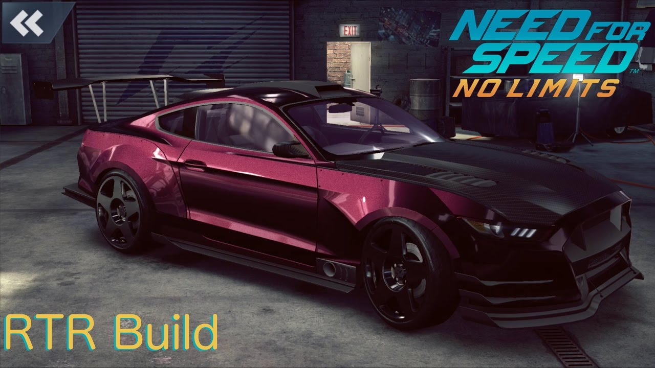 Mustang Rtr Build Need For Speed No Limits 1080p Fullhd Youtube