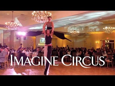 STACRO Stilt Acrobatic Act :: Imagine Circus Performers & Entertainment