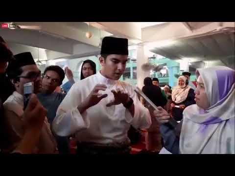 World #QuranHour dari Universiti Islam Antarabangsa Malaysia (UIAM). Sultan Perak, Sultan Nazrin Mui