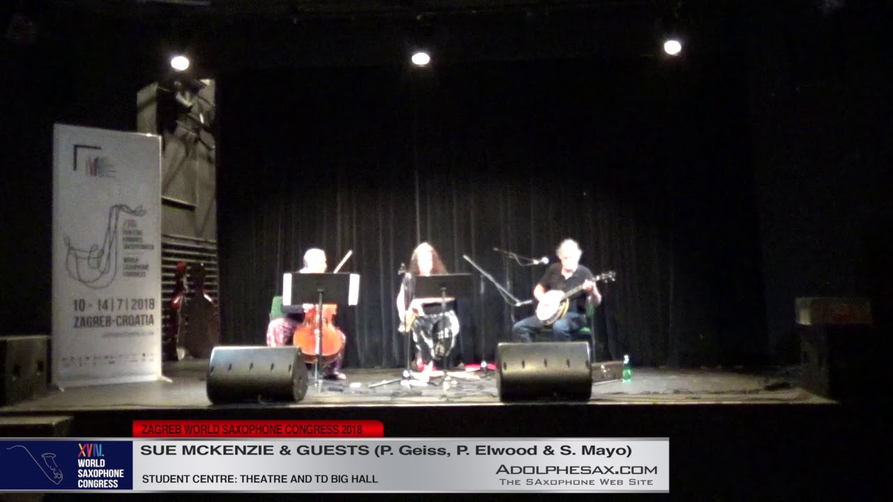 Incident at Max´s by Paul Elwood   Sue McKenzie and Guests   XVIII World Sax Congress 2018 #adolphes