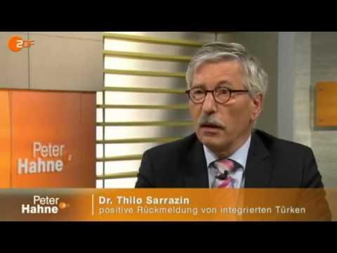 Sarrazin im diskurs mit Ströbele bei Peter Hahne
